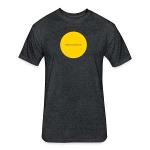 Everything You Wanted - Hole in My Chest (gold imprint) - Fitted Cotton/Poly T-Shirt by Next Level