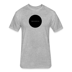 Everything You Wanted - Hole in My Chest (black imprint) - Fitted Cotton/Poly T-Shirt by Next Level