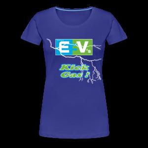 Women's Premium T- EV3 kicks Front - Women's Premium T-Shirt