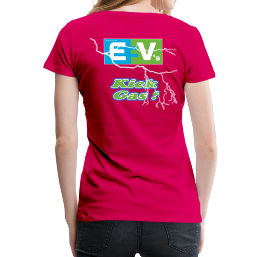 Women's Premium T- EV3 kicks Back - Women's Premium T-Shirt