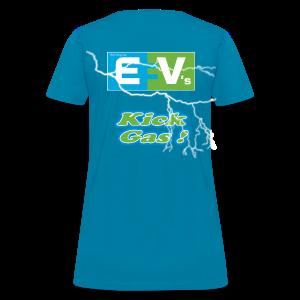 Women's Standard T- EV3 kicks Back - Women's T-Shirt