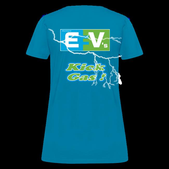 Women's Standard T- EV3 kicks Back