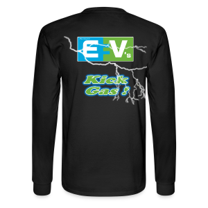 Men's Long Sleeve T- EV3 kicks Back - Men's Long Sleeve T-Shirt