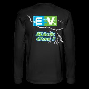 Men's Long Sleeve T- EV3 kicks Back - Men's Long Sleeve T-Shirt