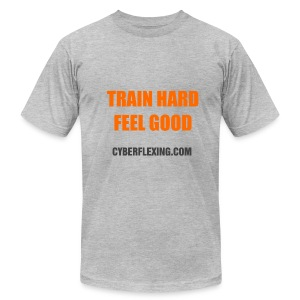Train Hard - Men's T-Shirt - Men's T-Shirt by American Apparel
