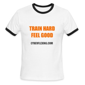 Train Hard - Men's T-Shirt - Men's Ringer T-Shirt