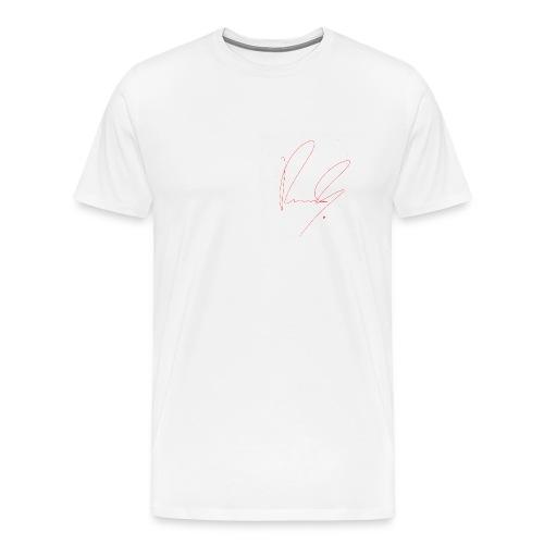 Mens Row Row Signature Shirts - Men's Premium T-Shirt