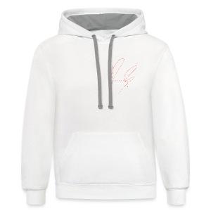 Unisex Row Row Signature hoodie - Contrast Hoodie