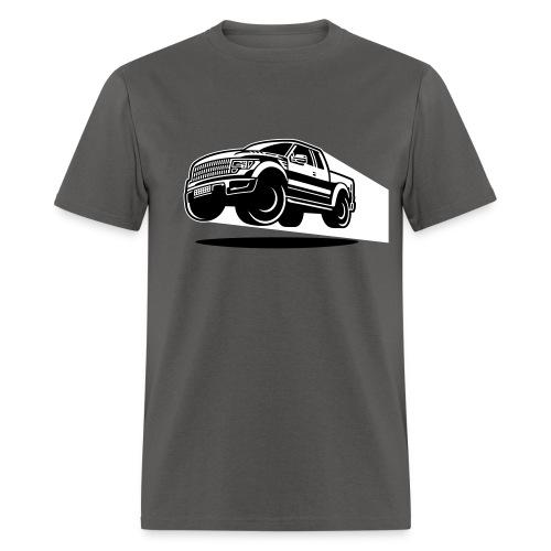 Jumping Raptor - Men's T-Shirt