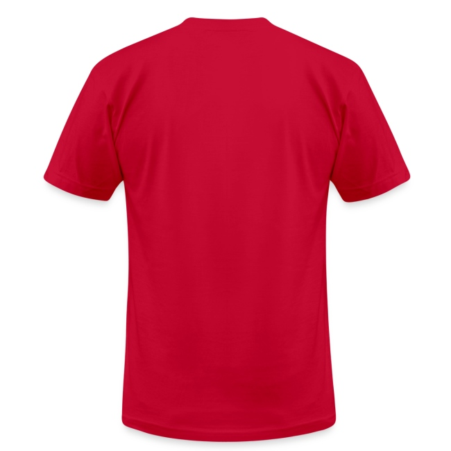 Men's T-Shirt by American Apparel (Red)