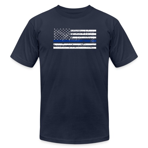 ThinBlueLine - Men's Fine Jersey T-Shirt