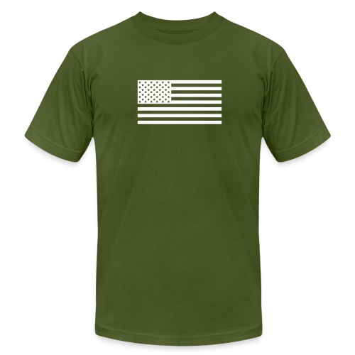 USA - Men's T-Shirt by American Apparel