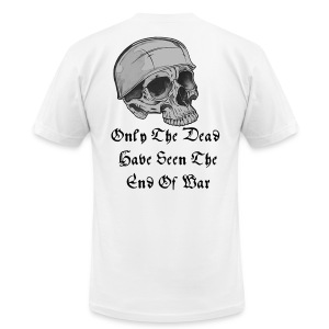 Only The Dead - Men's T-Shirt by American Apparel