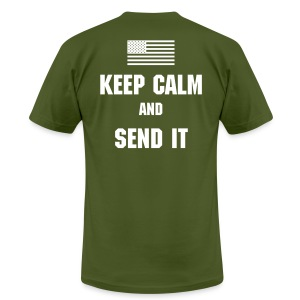 Keep Calm - Men's T-Shirt by American Apparel
