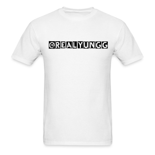 Yung G Gifted Twitter Shirt  - Men's T-Shirt