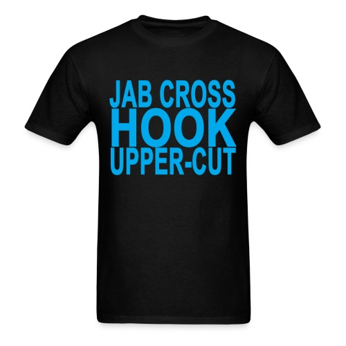 Jab Hook Shirt 2 - Men's T-Shirt