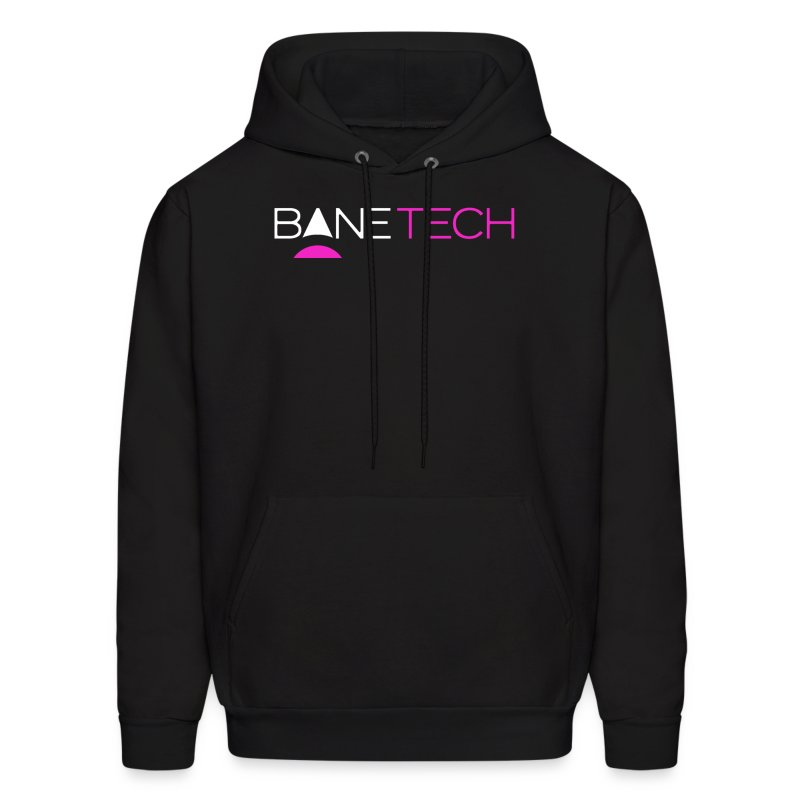 Transparent Bane Tech - Men's Hoodie