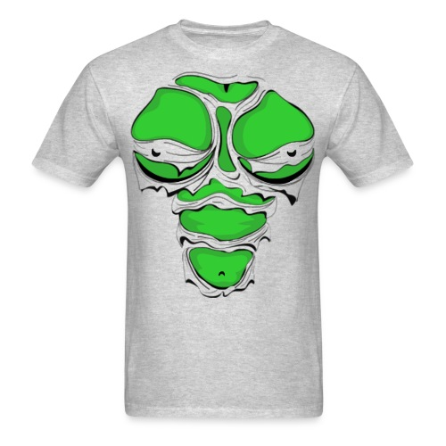 ZOMBIE GIRL RIPPED - Straight - SM-2XL - Men's T-Shirt