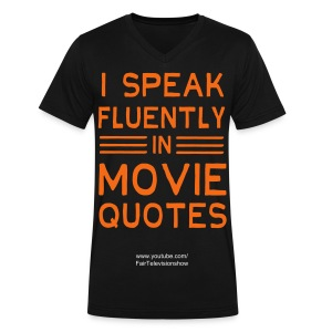 I speak Shirt - Men's V-Neck T-Shirt by Canvas