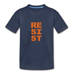 * RESIST vertical bold *  - T-shirt premium pour ados