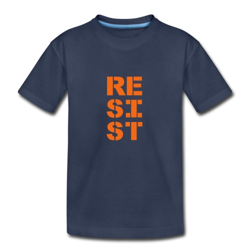 * RESIST vertical bold *  - Kids' Premium T-Shirt