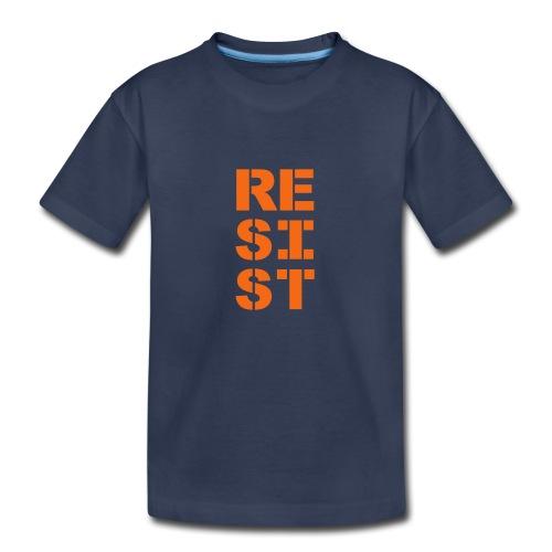 * RESIST vertical bold *  - Kids' Premium T-Shirt