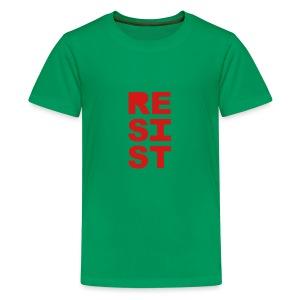 * RESIST vertical solid * - Kids' Premium T-Shirt