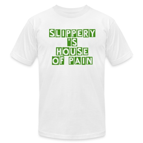 Slippery's house of PAIn - Men's Fine Jersey T-Shirt