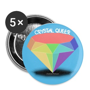 CRYSTAL QUEER Button - Small Buttons