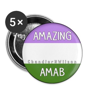 Amazing AMAB Button - Small Buttons