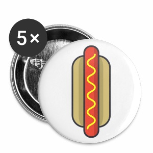 Wiener Pins - Small Buttons
