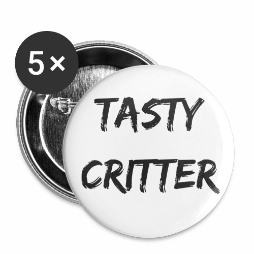 Tasty Critter Pins - Small Buttons