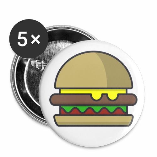 Hamburger Pins - Small Buttons