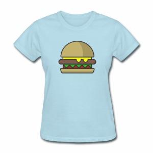 Women's Hamburger Shirt - Women's T-Shirt