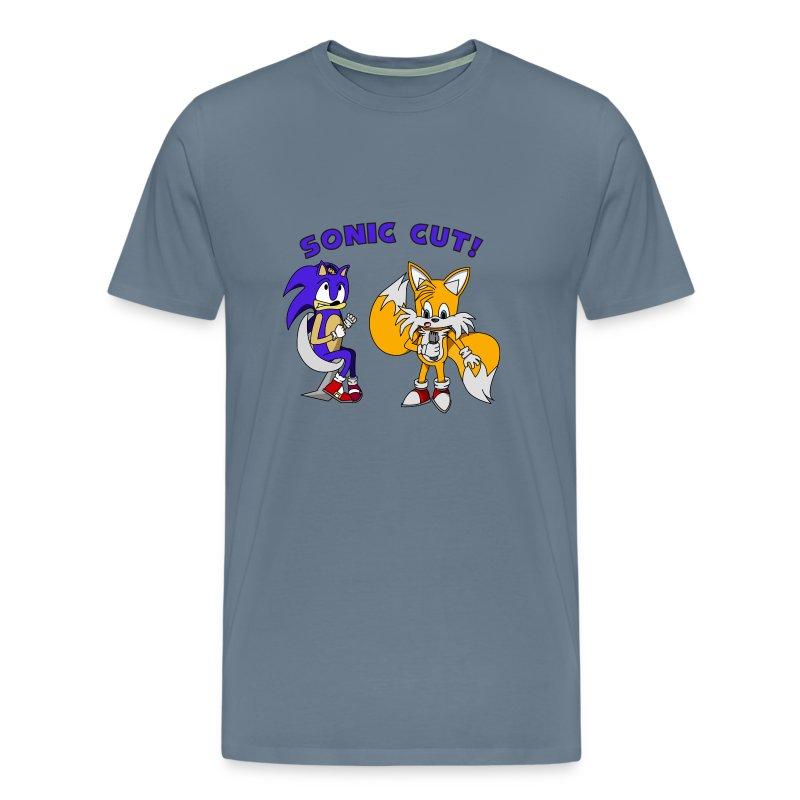 Sonic Cut ver.1 - Men's Premium T-Shirt