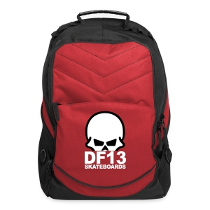 DF13 Red/Black Backpack - Computer Backpack