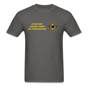 Starfleet Marines Con-minimum uniform shirt for men - Men's T-Shirt