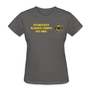 Starfleet Marines Con-minimum uniform shirt for women - Women's T-Shirt