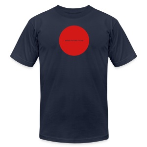 Everything You Wanted - Hole in My Chest (red imprint) - Men's Fine Jersey T-Shirt