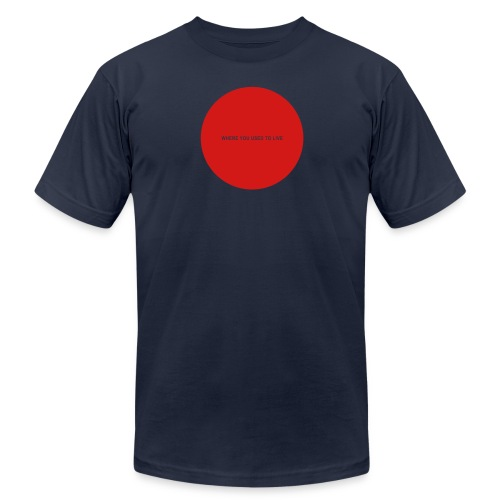Everything You Wanted - Hole in My Chest (red imprint) - Men's  Jersey T-Shirt