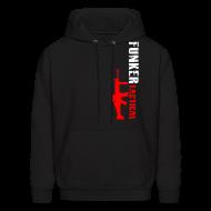 Hoodies ~ Men's Hoodie ~ Funker Tactical & SCAR Left Side Hoodie