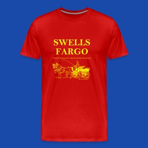 Swells Fargo - Men's Premium T-Shirt