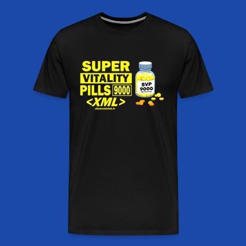 Super Vitality Pills 9000 XML - Men's Premium T-Shirt