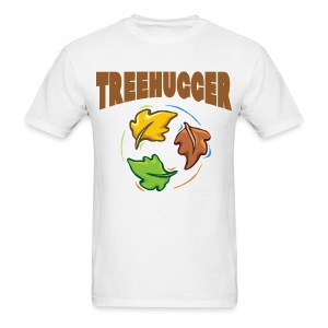 Tree Hugger Men's White T-Shirt - Men's T-Shirt