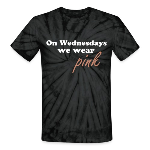 On Wednesdays tye dye shirt - Unisex Tie Dye T-Shirt