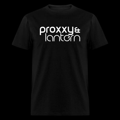 Proxxy & Lantern Front Essential Bass Back Standard Men's T-Shirt - Men's T-Shirt