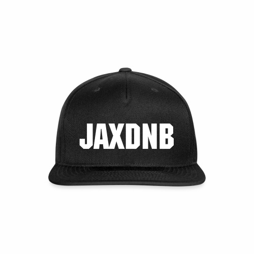 JAXDNB Black Hat - Snap-back Baseball Cap
