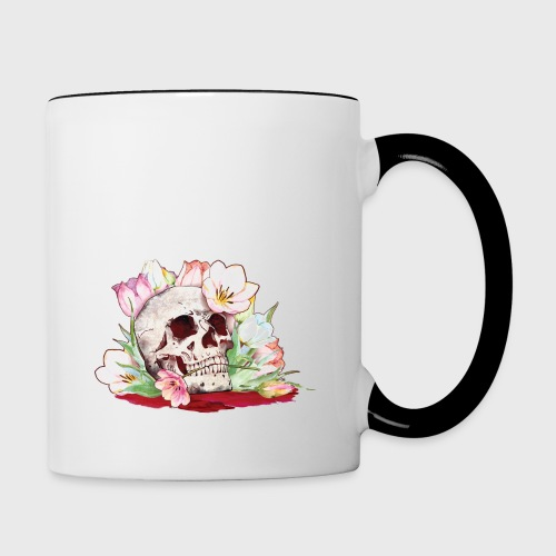 My Favorite Murder Skull - Contrast Coffee Mug