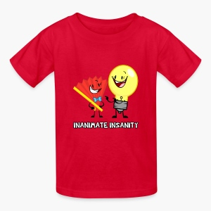 Fan and Lightbulb Double - Child's - Kids' T-Shirt