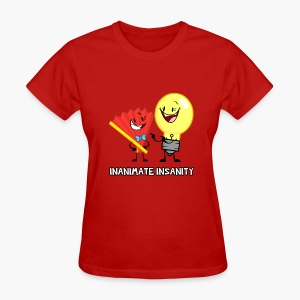 Fan and Lightbulb Double - Women's - Women's T-Shirt